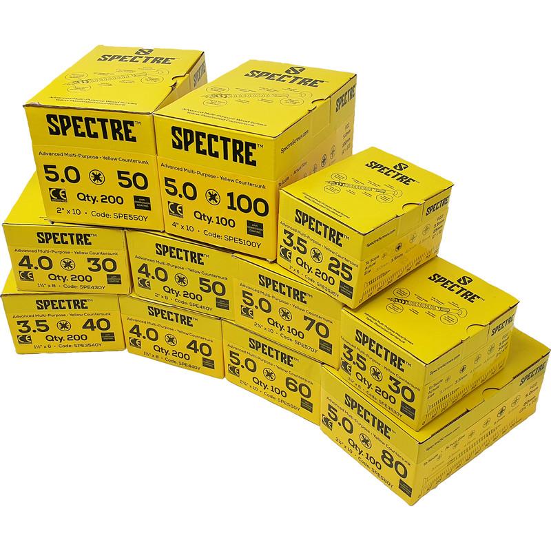 Spectre Screws Trade Pack