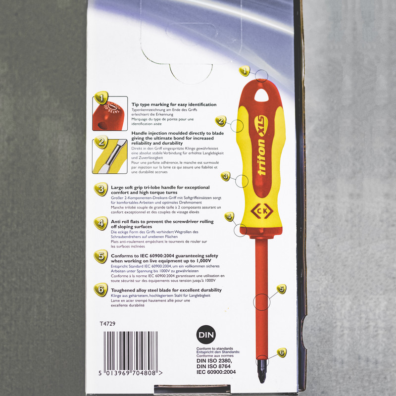 C.K Triton XLS Insulated Screwdriver Set