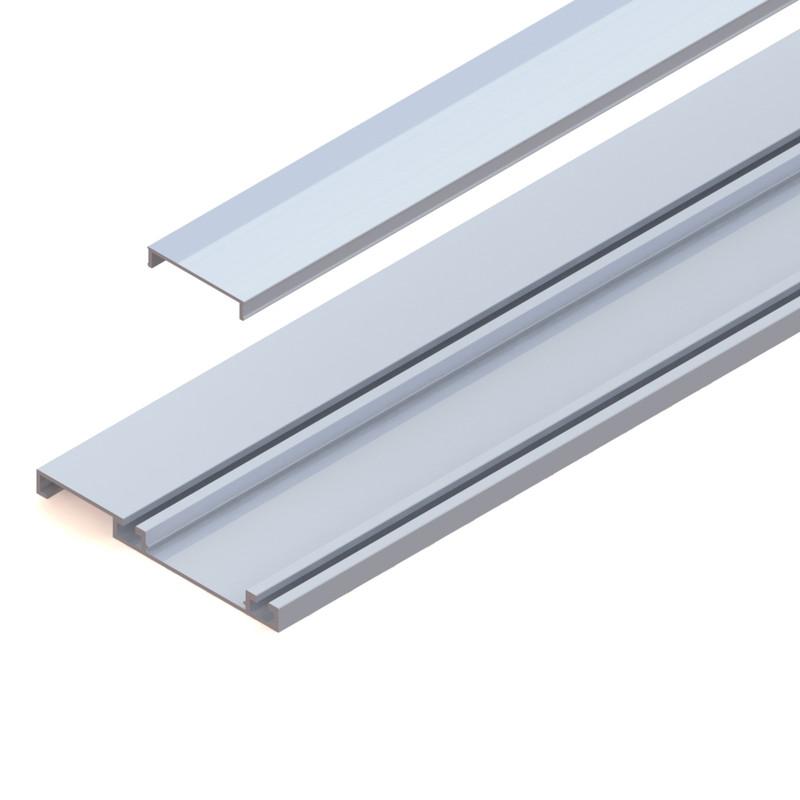 Coburn Celantur 50 Top & Bottom Aluminium Track