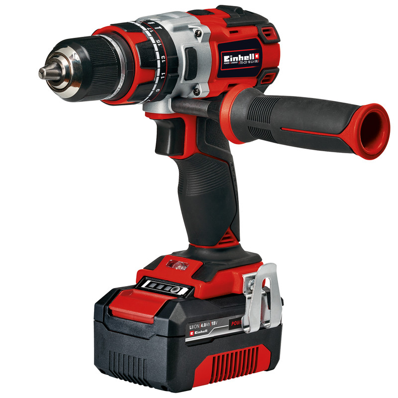 Einhell Power X-Change 18V Li-Ion Cordless Brushless Combi Drill