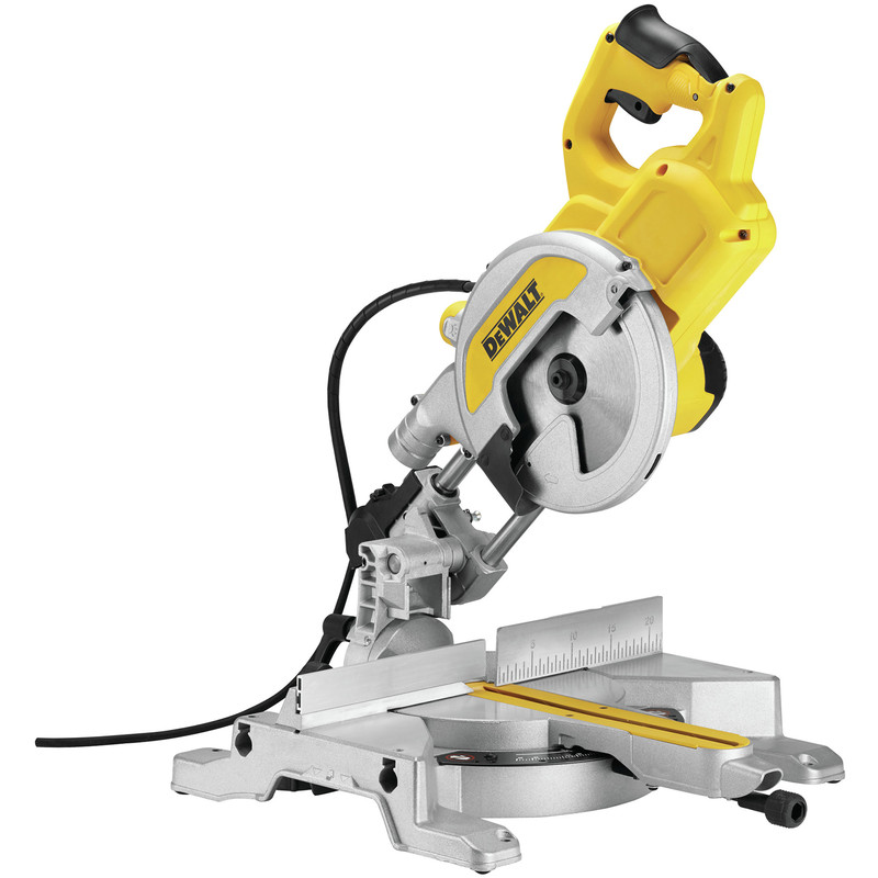 DeWalt DWS777 XPS 216mm Sliding Mitre Saw