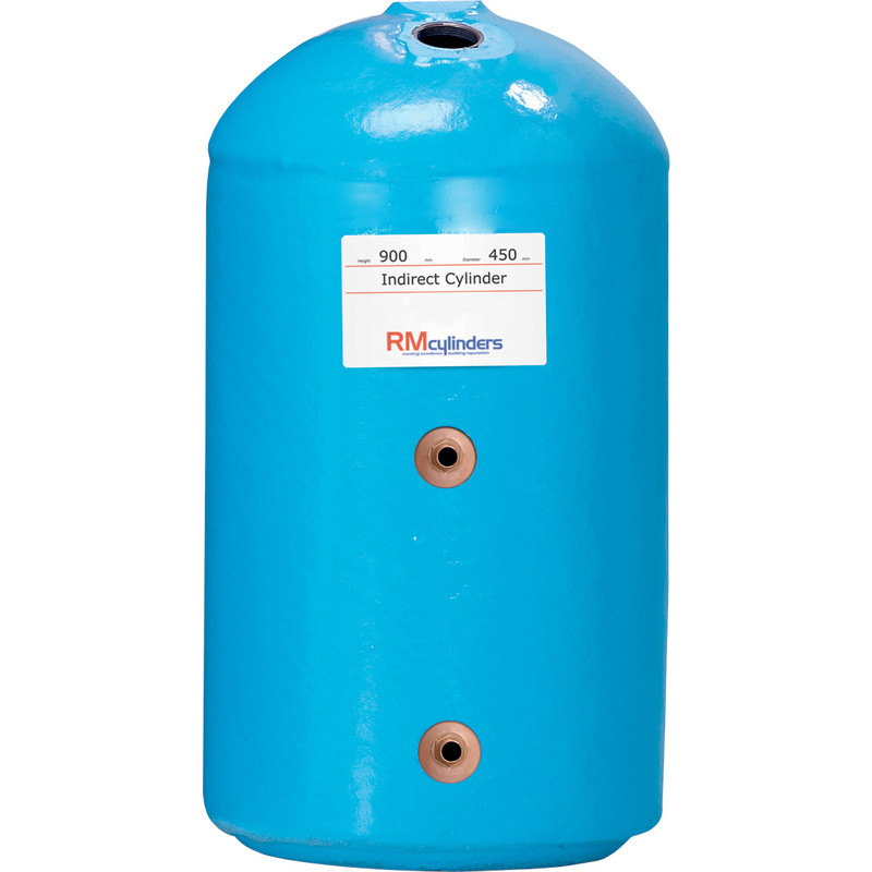 Indirect Hot Water Cylinder 900 x 450 120L
