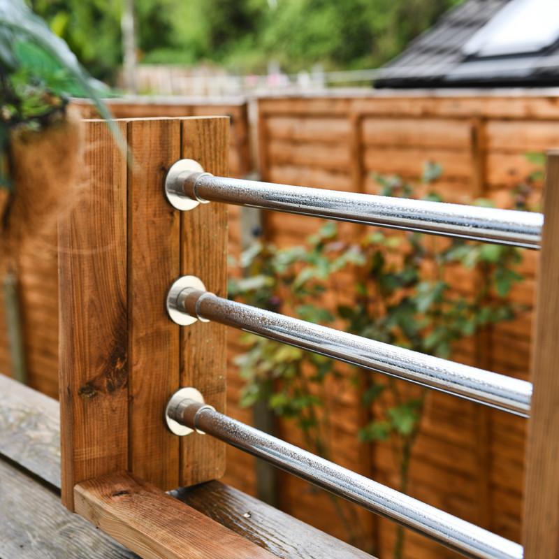 Stainless Steel Wardrobe Rail