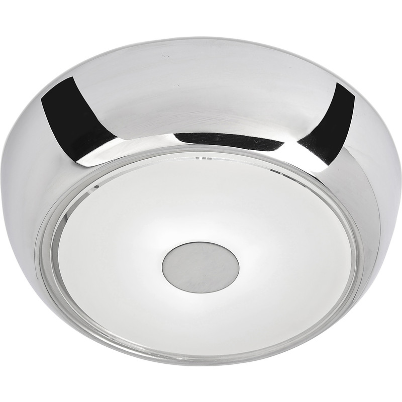 Ostria G9 LED Chrome Flush IP44