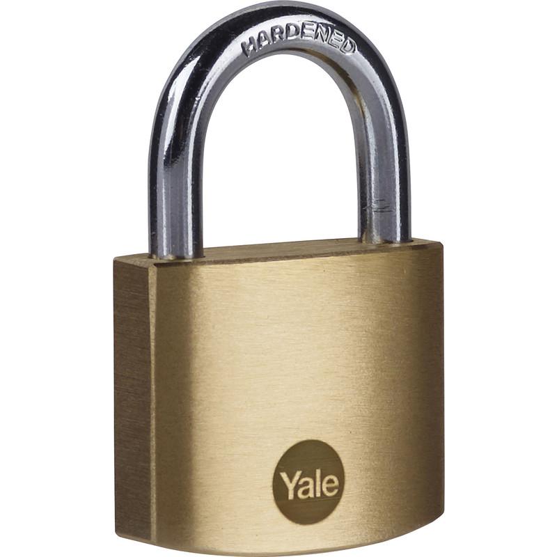 Yale Brass Padlock