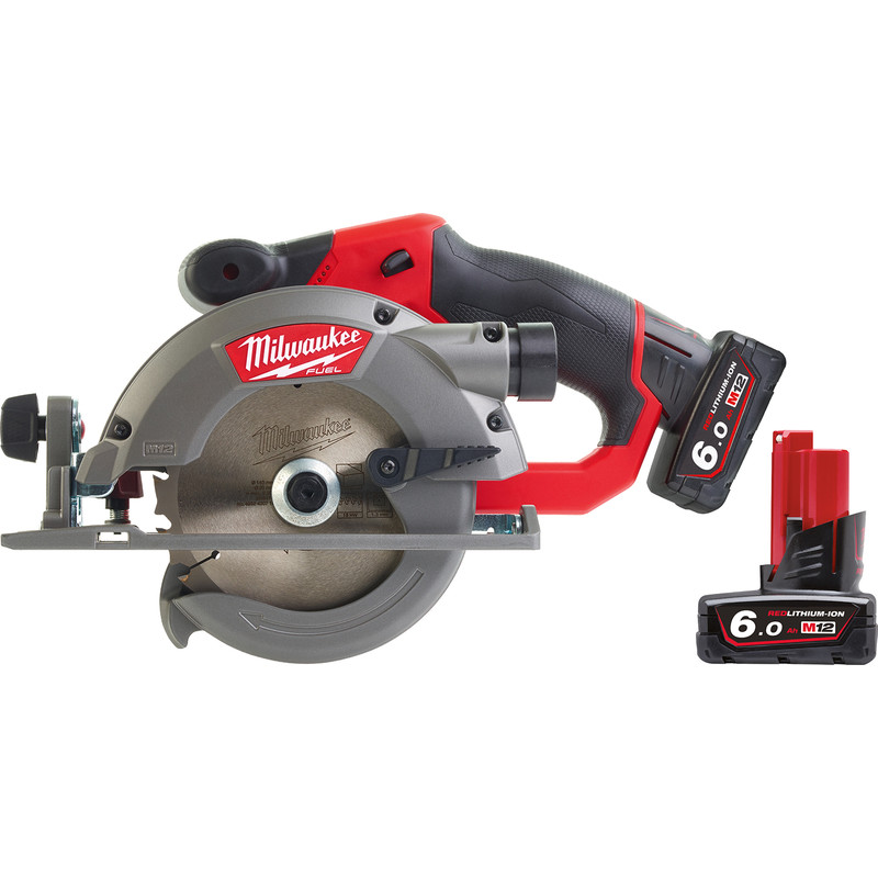 Milwaukee M12CCS44-602X 12V Li-Ion 140mm Cordless Fuel Circular Saw