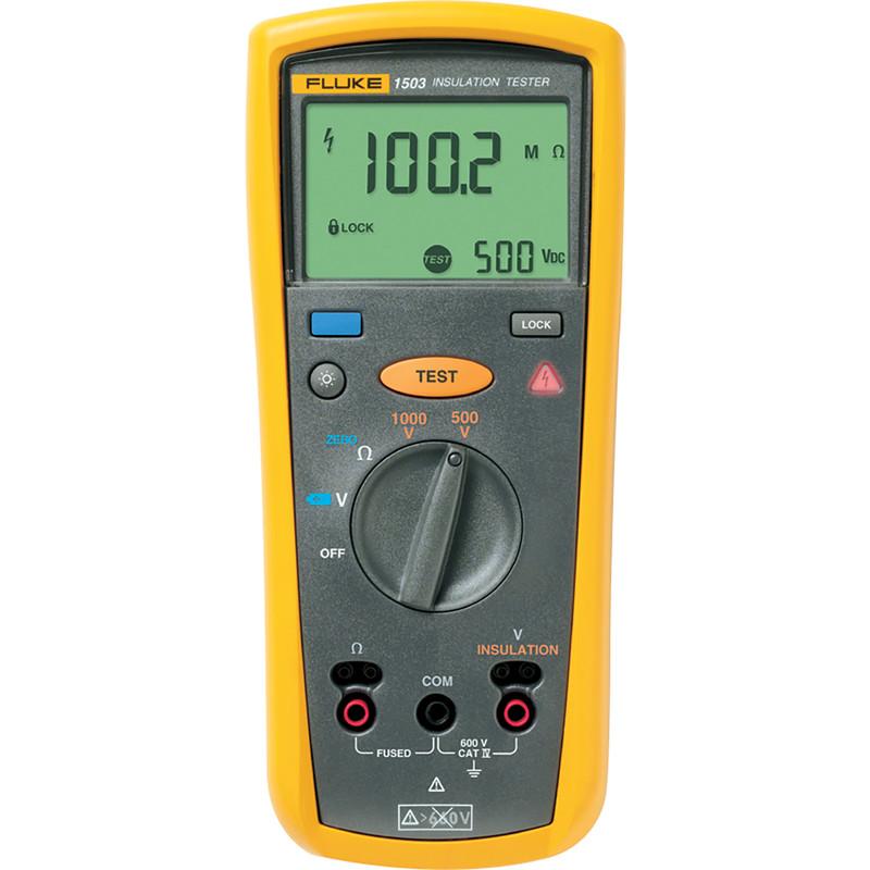 Fluke 1503 Insulation / Resistance Tester