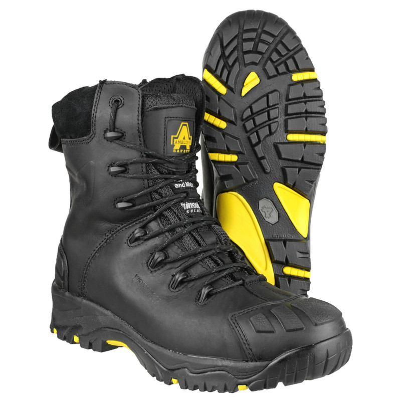 Amblers FS999 High Leg Safety Boots