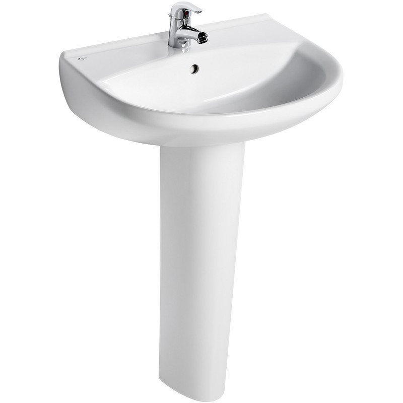 Ideal Standard Remo Basin And Pedestal