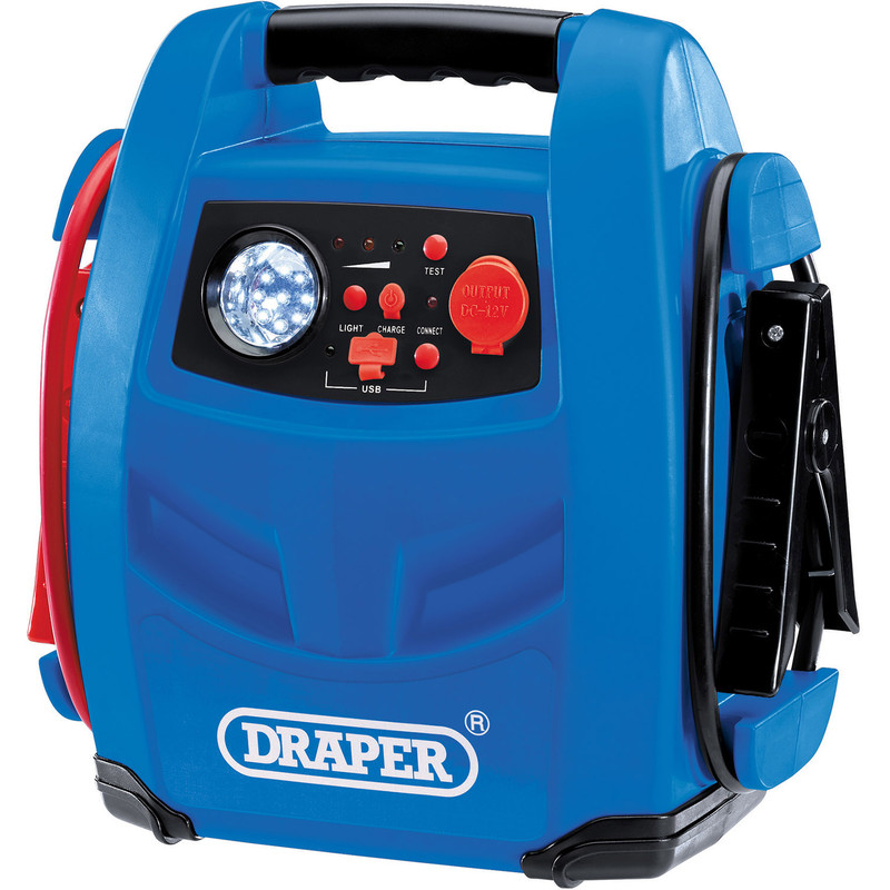 Draper 12V Jump Starter