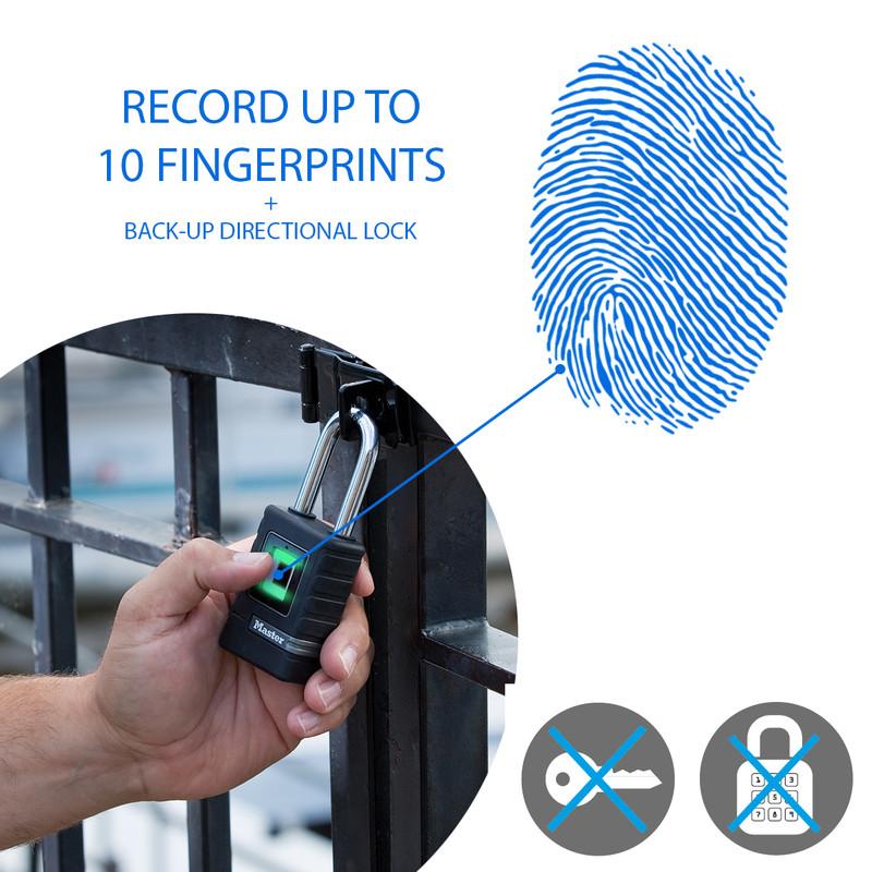 Master Lock Biometric Padlock