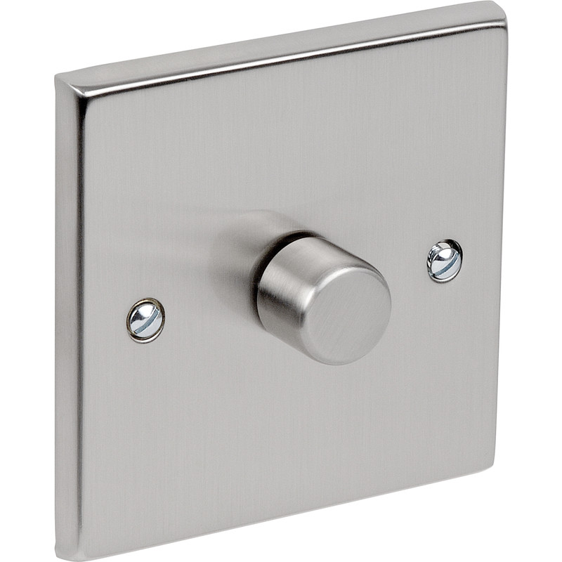 Satin Chrome Dimmer Switch