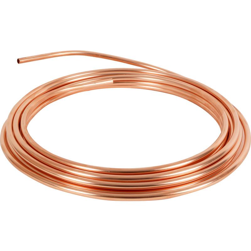 Wednesbury Microbore Copper Pipe Coil