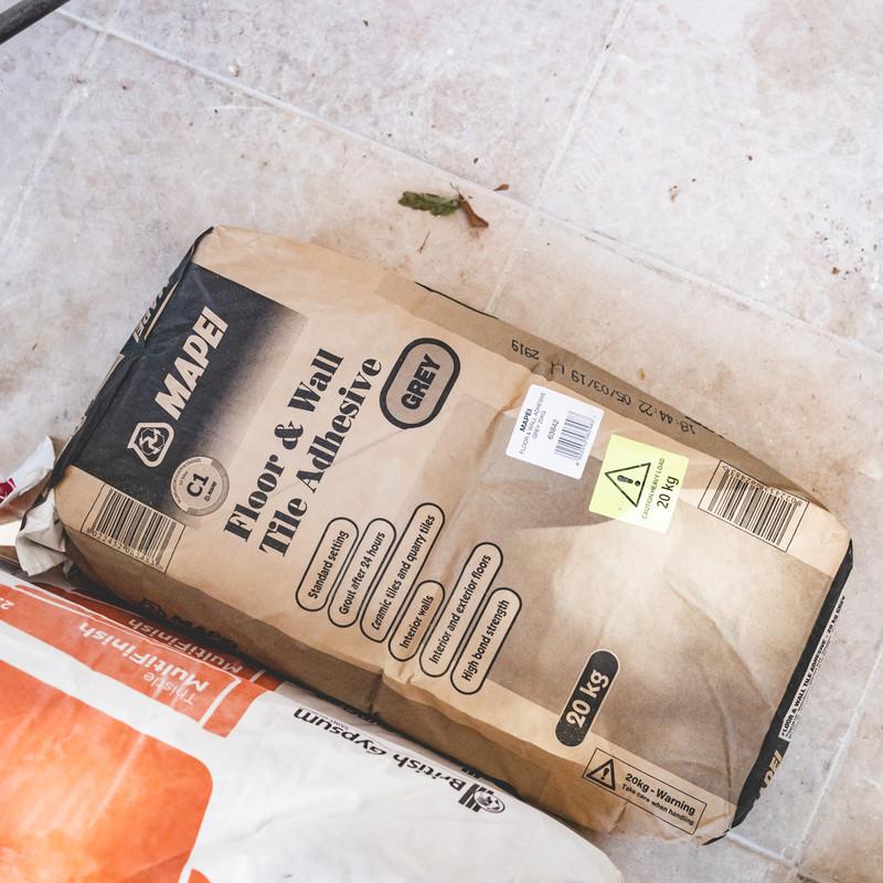 Mapei Floor & Wall Tile Adhesive 20kg Grey