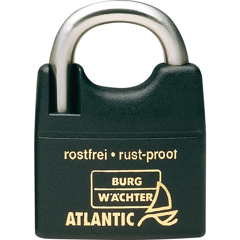 Burg-Wachter Atlantic Rustproof Marine Padlock