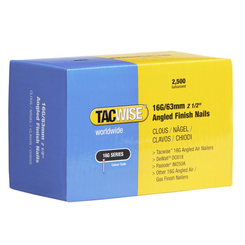 Tacwise 16 Gauge Angled Finish Nails