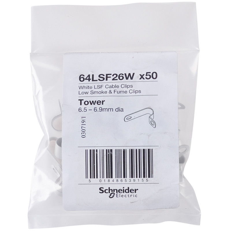 Schneider 18th Edition Wrap Around Cable Fixings