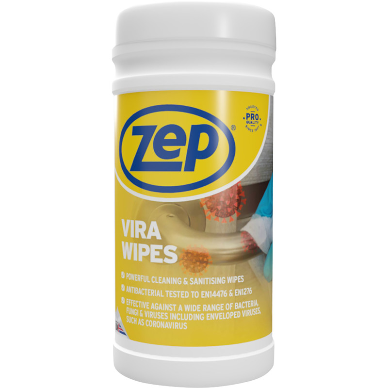Zep Vira Wipes