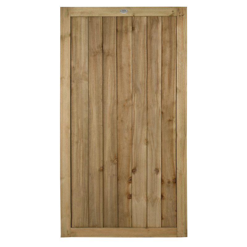 Forest Garden Pressure Treated Square Board Gate