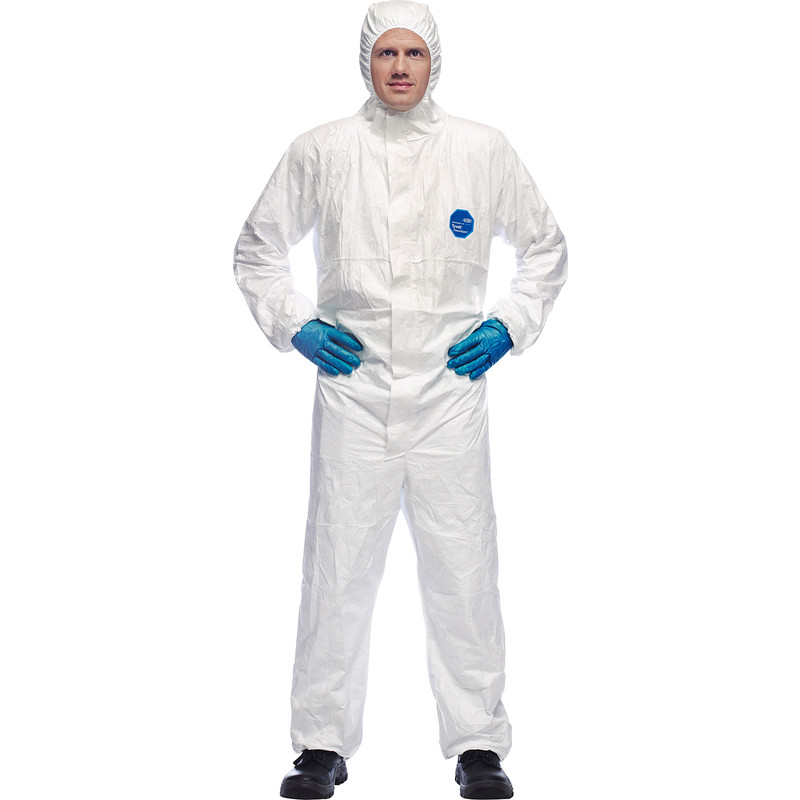 Dupont Tyvek Classic Hooded Coverall