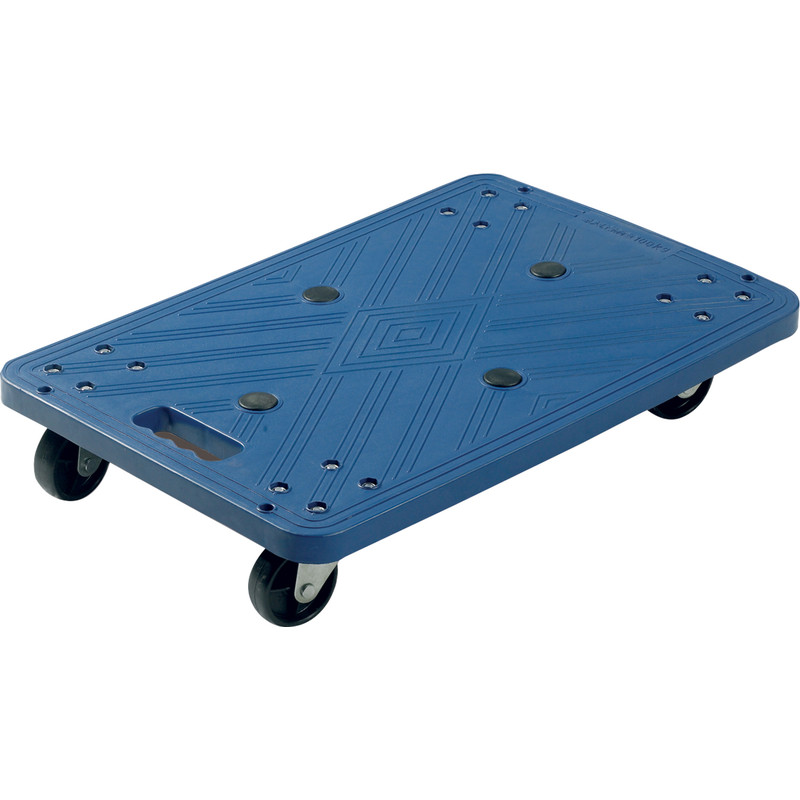 Blue Plastic Dolly