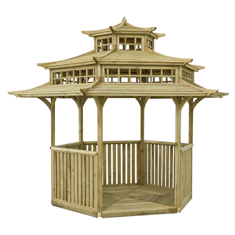 Rowlinson Oriental Pagoda Gazebo