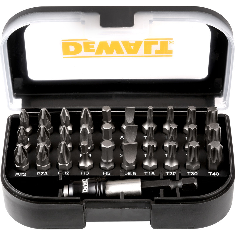 DeWalt Torsion Screwdriver Bit Set