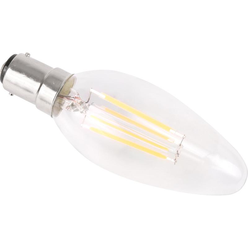LED Filament Candle Lamp