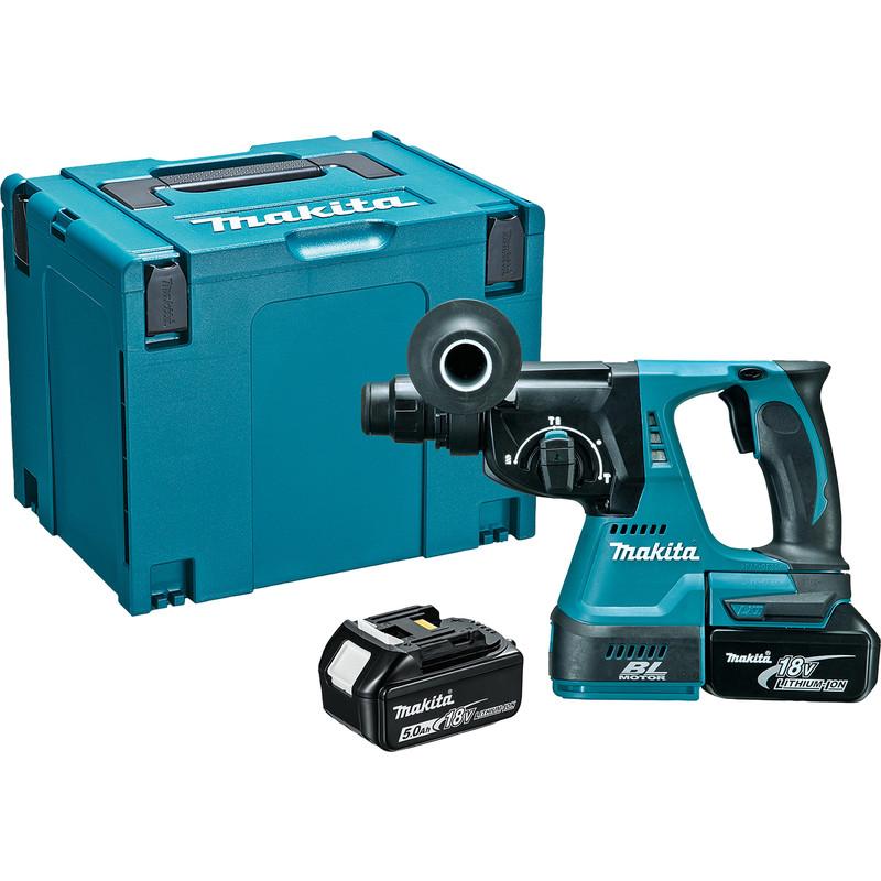 Makita 18V LXT Brushless SDS+ Hammer Drill
