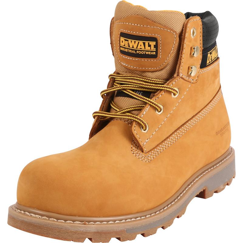 DeWalt Hancock Safety Boots Wheat Size 5
