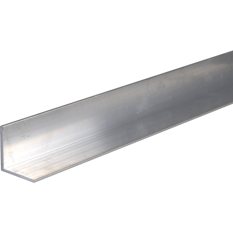 Aluminium Angle Various Sizes 12 mm x 12 mm x 2 mm x 2000 mm