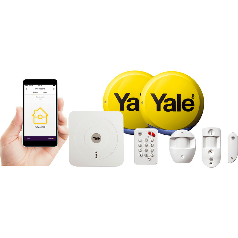 Yale Smart Home Alarm & View Kit