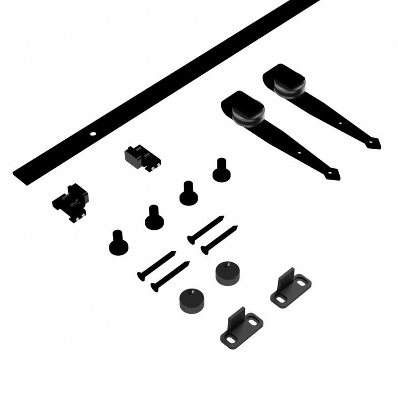 Coburn Flat Track Mini Arrowhead Hanger One Door System
