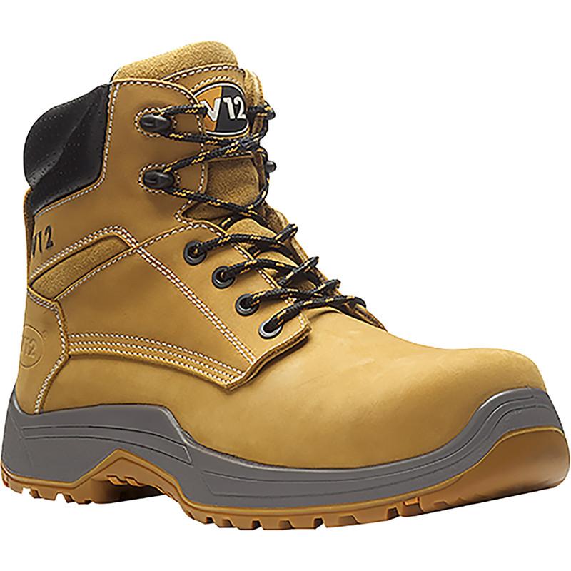 c3efa483ffc VR602.01 Puma Nubuck Safety Boots Size 9