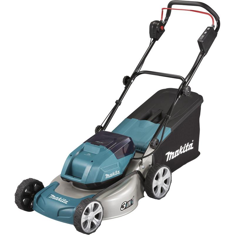 Makita 36V (2x18V) 46cm Cordless Brushless Lawnmower