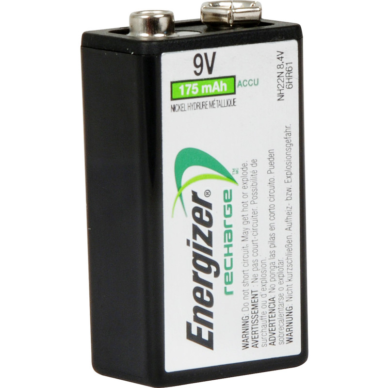 Energizer Power Plus Pre Charged Rechargeable Battery 9V