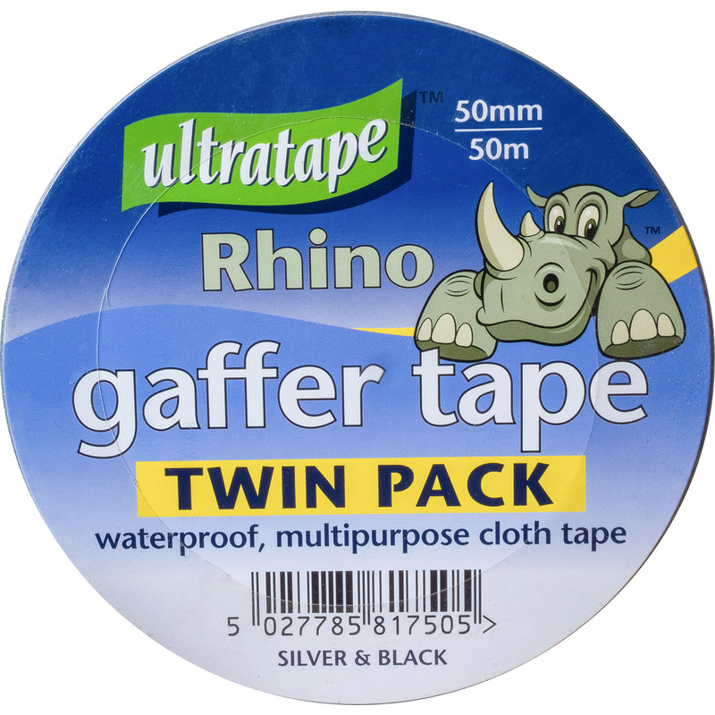 Heavy Duty Cloth Duct Tape Twin Pack
