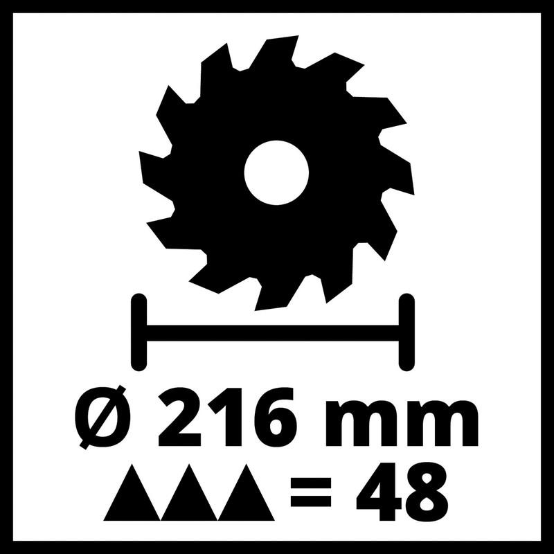 Einhell 216mm Single Bevel Mitre Saw
