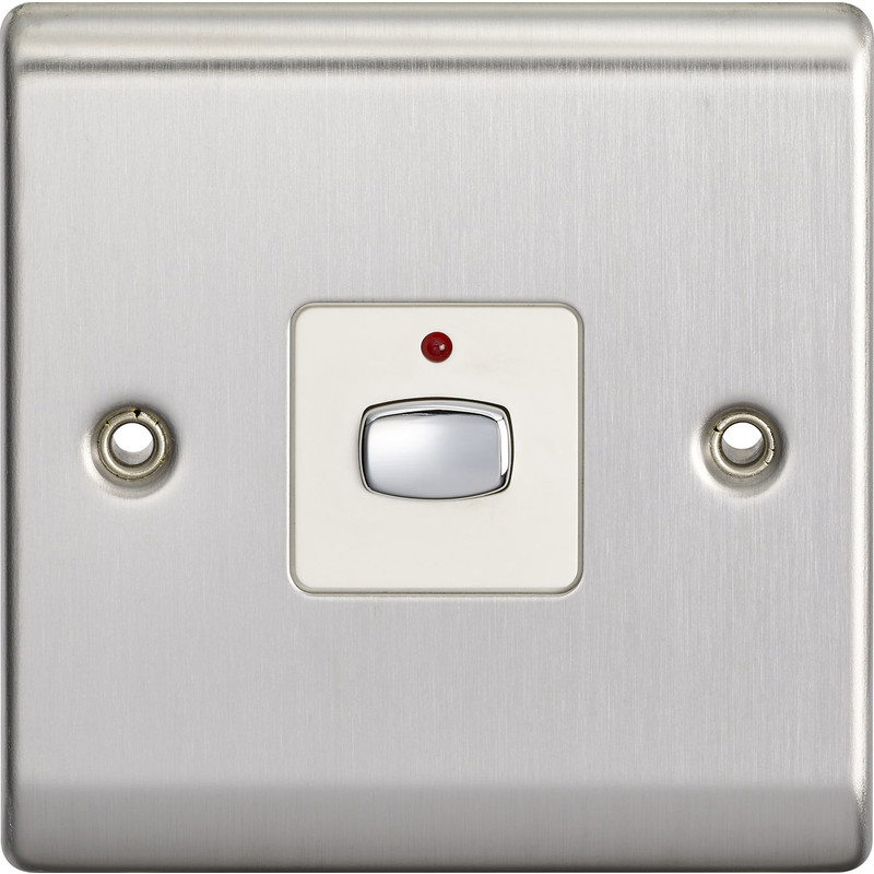 Energenie MiHome Smart 6MM Light Switch 1 Gang Dimmer