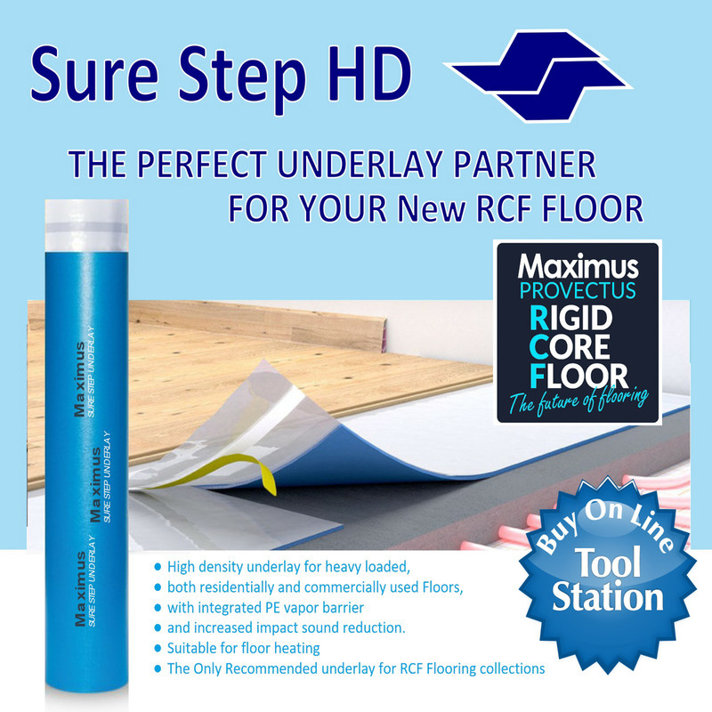 Maximus Sure Step HD Underlay