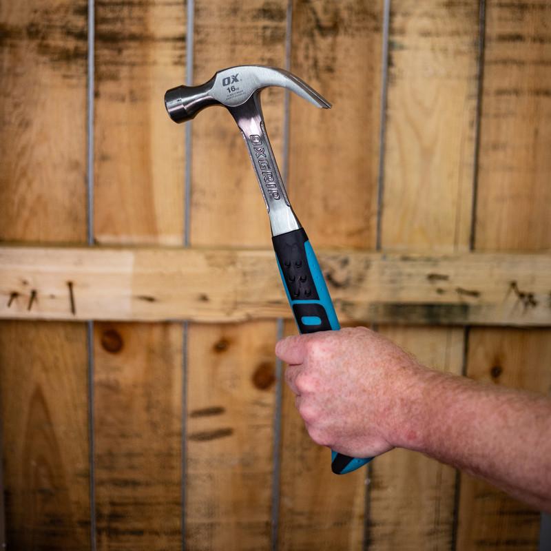 Ox Tools OX-P081616 Pro Fibreglass Claw Hammer 16oz