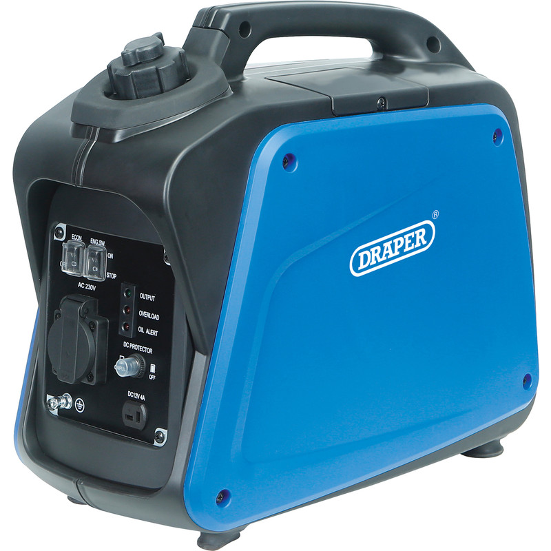 Draper 1.0kW Close Case Inverter Generator