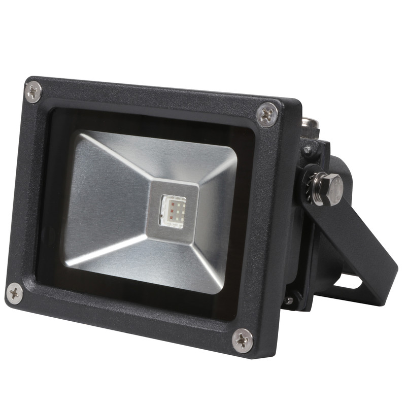 LED 10W RGB Colour Changing Floodlight IP65
