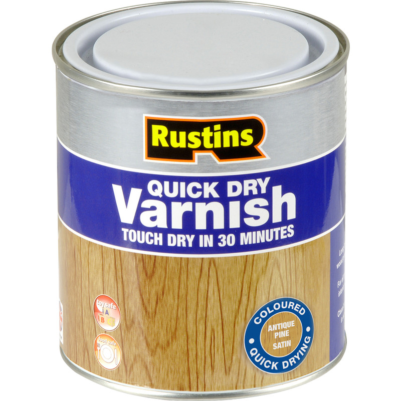Rustins Quick Dry Varnish Satin 500ml
