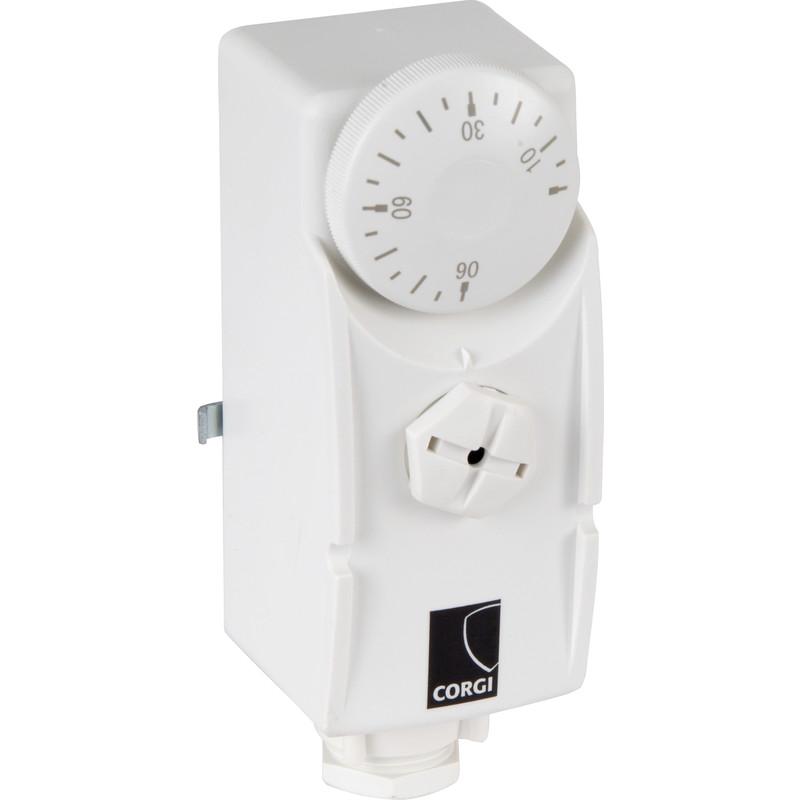 Corgi PCS Dual Pipe / Cylinder Thermostat