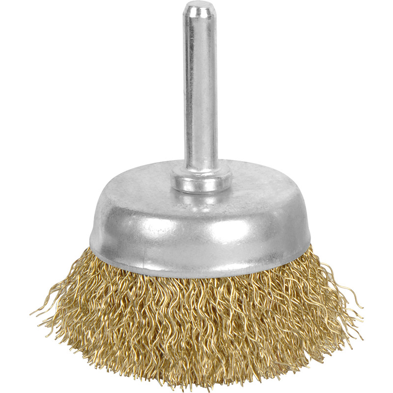 Wire Cup Brush with Arbor