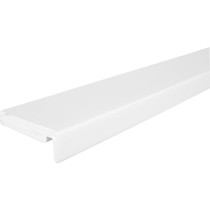 16mm White Fascia Board