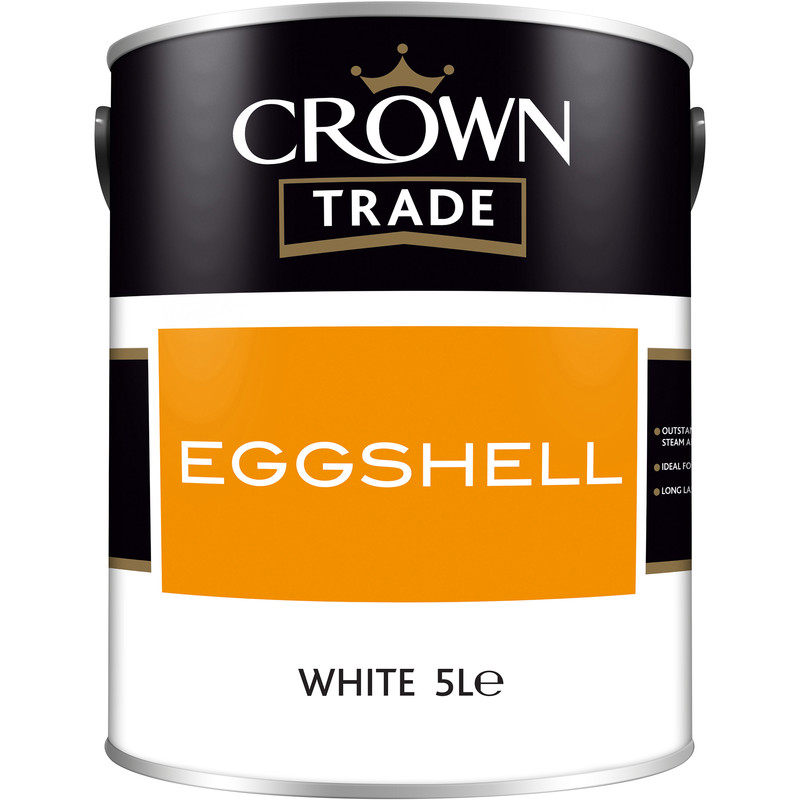 Crown Trade Eggshell Paint 5L