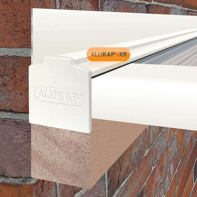 Alukap-XR Concealed Fix Wall Bar with Gasket