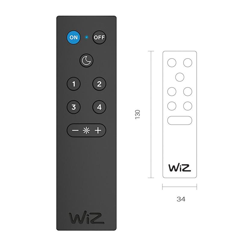 4lite WiZ Connected Smart WiFi Remote Control
